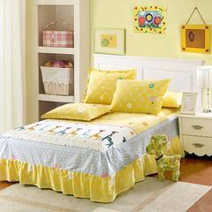 12870系列全部花型 单品纯棉床罩 120*200 可爱颂