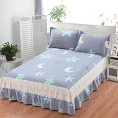 12870系列全部花型 单品纯棉床罩 150*200 星月物语