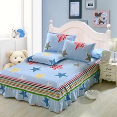 12870系列全部花型 单品纯棉床罩 135*200(定制,可退换) 炫彩星空