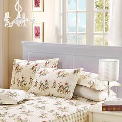 12870系列全部花型 单品纯棉枕套 常规枕套48x74cm/对 花媛