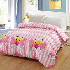 12870系列全部花型 单品纯棉被套 120*150cm(定做) 粉红豹