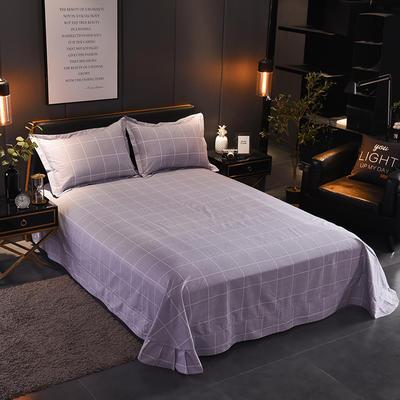 2018年新款全棉活性磨毛单床单款 180x245cm(直角) 浪漫格调