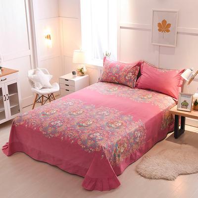2018年新款全棉活性磨毛单床单款 180x245cm(直角) 美丽神话