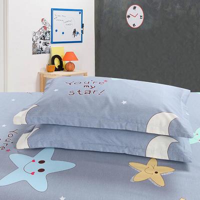 2018最新纯棉枕套 48*47cm一只 星月物语
