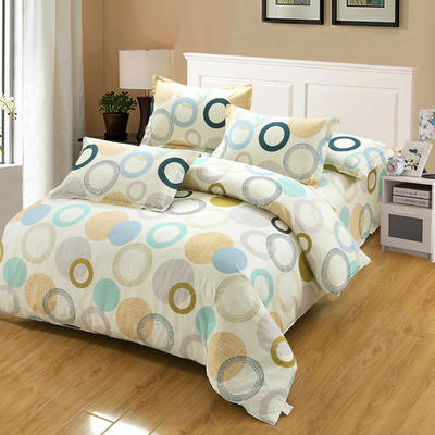 最新13070纯棉床单四件套 1.0m(3.3英尺)床 幸福相约