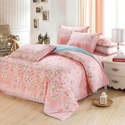 最新13070纯棉床单四件套 1.0m(3.3英尺)床 一诺倾情A