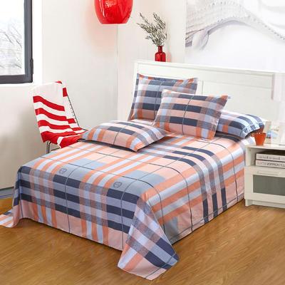 新款13070纯棉全棉单件床单 100cmx220cm 一诺倾情