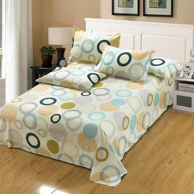 新款13070纯棉全棉单件床单 100cmx220cm 幸福相约
