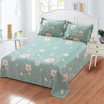 新款13070纯棉全棉单件床单 100cmx220cm 绚烂