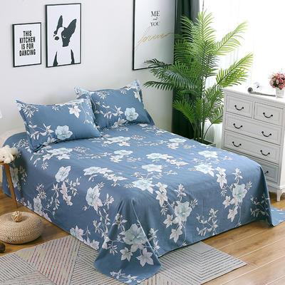 新款13070纯棉全棉单件床单 100cmx220cm 优雅多姿