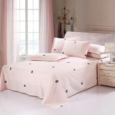 新款13070纯棉全棉单件床单 100cmx220cm 蒲公英】