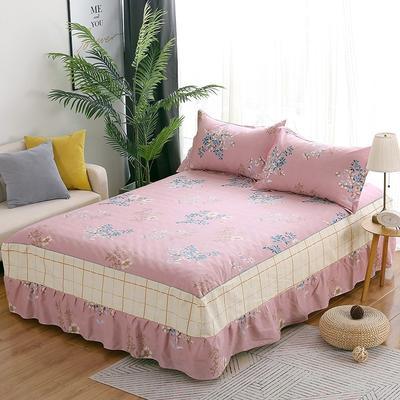 最新13070纯棉单件床罩床裙 100cmx200cm定制,可退换 卿本佳人