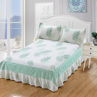 最新13070纯棉单件床罩床裙 100cmx200cm定制,可退换 宛如初见