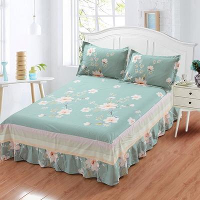 最新13070纯棉单件床罩床裙 100cmx200cm定制,可退换 绚烂
