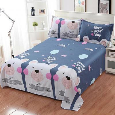新款13070纯棉全棉单件床单 100cmx220cm 至尊宝