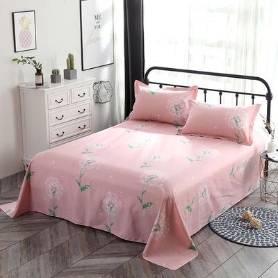 新款13070纯棉全棉单件床单 100cmx220cm 等风来