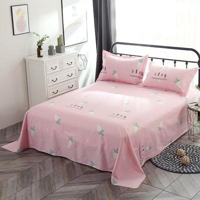 新款13070纯棉全棉单件床单 100cmx220cm 快乐萝卜