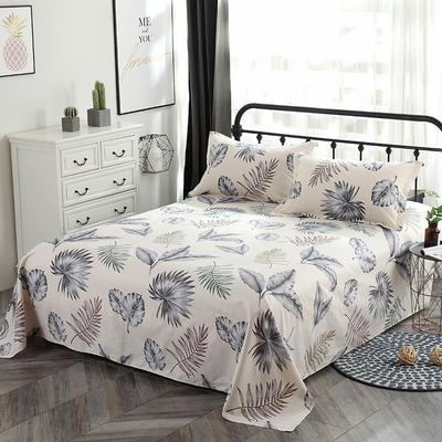 新款13070纯棉全棉单件床单 100cmx220cm 美好
