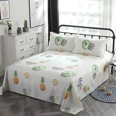 新款13070纯棉全棉单件床单 100cmx220cm 水果派
