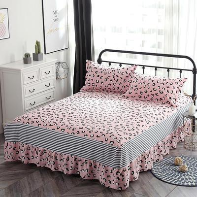 最新13070纯棉单件床罩床裙 100cmx200cm定制,可退换 迪娜