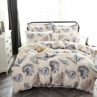 最新13070纯棉床单四件套 1.0m(3.3英尺)床 美好