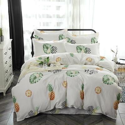 最新13070纯棉床单四件套 1.0m(3.3英尺)床 水果派