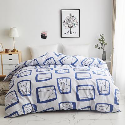 2019新款-13374全棉系列单件被套 120x150cm折叠 艾蜜-兰