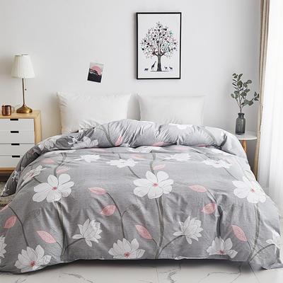 2019新款-13374全棉系列单件被套 120x150cm折叠 山花之恋