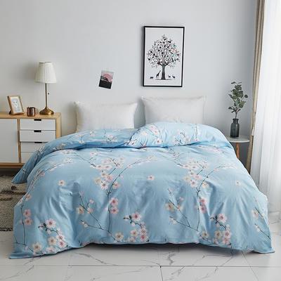 2019新款-13374全棉系列单件被套 120x150cm折叠 紫罗兰