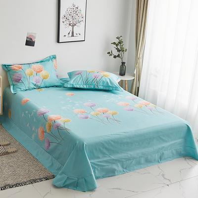 2019新款-13374全棉系列单件床单 180x245cm(直角) 玻璃球