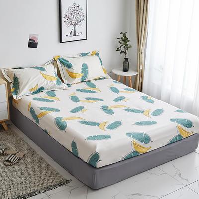 2019新款-13374全棉系列单件床笠 90x200cm+28cm高(定制) 香蕉派对