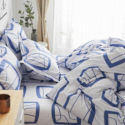 2019新款-13374全棉单件枕套48x74cm一对 48cmX74cm/一对 艾蜜-兰