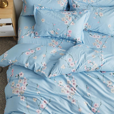2019新款-13374全棉系列单件枕套 48cmX74cm/一对 紫罗兰