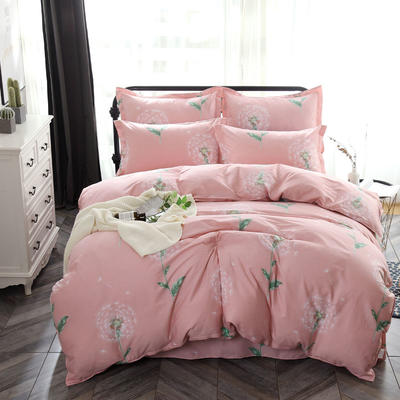最新13070纯棉床单四件套 1.0m(3.3英尺)床 等风来