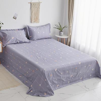 2020新款-13374全棉系列单件床单 180x245cm(直角) 爱的告白