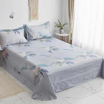 2020新款-13374全棉系列单件床单 180x245cm(直角) 夏威夷之恋