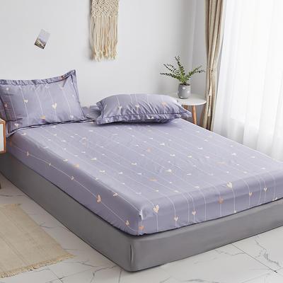 2020新款-13374全棉系列单件床笠 90x200cm+28cm高(定制) 爱的告白