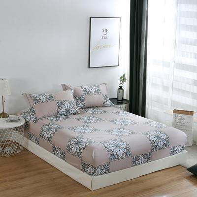 2020新款-13374全棉系列单件床笠 90x200cm+28cm高(定制) 加洛林