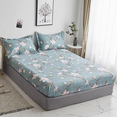 2020新款-13374全棉系列单件床笠 90x200cm+28cm高(定制) 十里花开