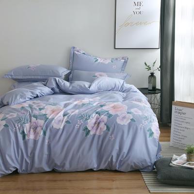 2020新款-13374全棉系列四件套 床单款三件套1.2m(4英尺)床 花满地