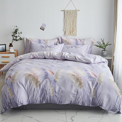 2020新款-13374全棉系列四件套 床单款三件套1.2m(4英尺)床 飘絮