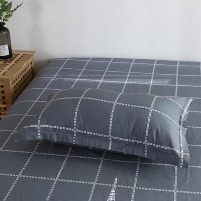2020新款-13070单枕套 48cmX74cm/一对 埃菲尔-灰