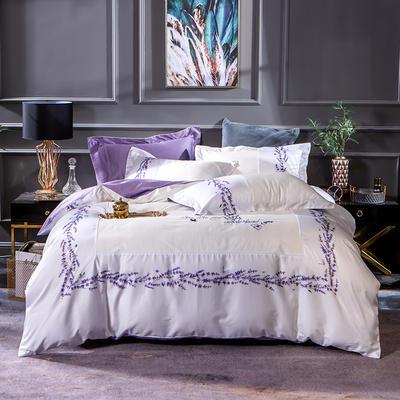 2019新款-美式60长绒棉印加绣系列四件套 1.8m(6英尺)床 风之物语