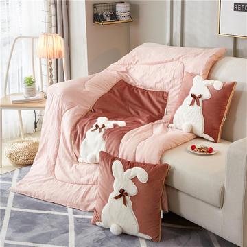 2018新款-兔子抱枕被ok