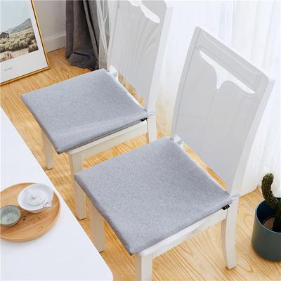 2019新款-日式棉麻坐垫ok 40X40cm 米灰