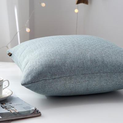 2019新款-回字尼抱枕ok 40*40cm含芯 蓝咖色