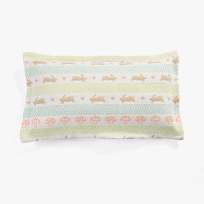2017 新款儿童枕套 六层跑兔枕套