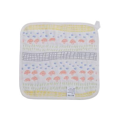 2017 新款儿童方巾 六层蘑菇森林方巾(25cm×25cm)