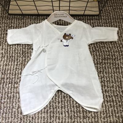 2017 新款儿童-纱布哈衣系列 纱布哈衣-布朗熊