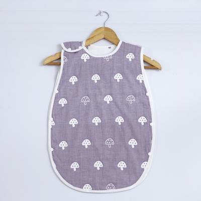2017 新款儿童睡袋 80支蘑菇睡袋-紫(40cm×70cm)